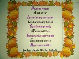 Halloween Candy Poems Tidbits Of Halloween Puzzle Me Complete Believer Mother