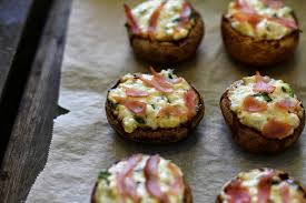 thanksgiving must healthier stuffed mushrooms homegrown in