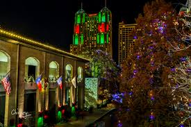 san antonio tree lighting 2017 lights on the river walk