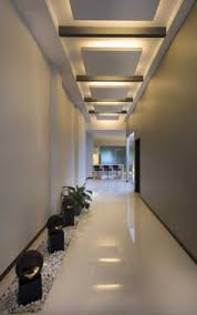 Apartment Modern Hall Other Metro MO Designs Ceiling - Apartment ceiling design