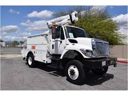 international bucket trucks boom trucks in california for sale
