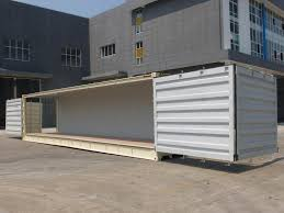 new 40 foot high cube shipping containers side open for sale