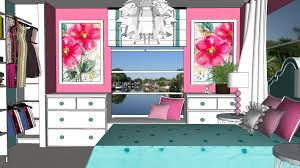 impressive turquoise and pink bedroom epic home decor arrangement