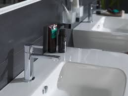 Washbasin Mixer Tap Wall Mounted Countertop Chrome Plated