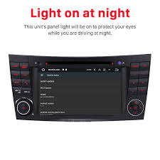 sat navi audio system mercedes benz clk w209 dvd player built in