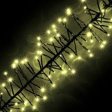 Multi Function Christmas Lights 720 Warm White Led Cluster Christmas Lights With Multi Function