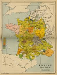 Political Map Of France by Historical Maps Of France