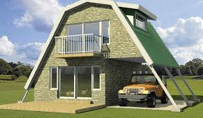 cottages steel frames