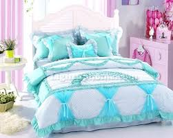 Elephant Duvet Cover Urban Outfitters Girls Lace Bowtie Polka Dot Ruffled Duvet Cover And Sheet Bedding