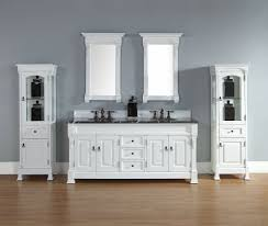 72 inch cottage white double bathroom vanity optional countertops