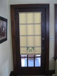 windows door shades for doors with windows ideas front door window