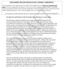 consulting contract freewordtemplates net