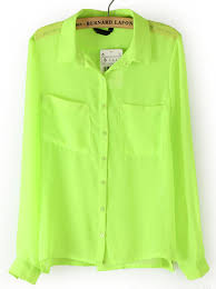 green blouses lime green blouses tops lace henley blouse