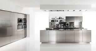 edelstahl küche moderne edelstahl küche design ideen