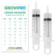 amazon com graduated advanced measuring garden nutrients syringe