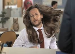 ultra feminine hair for men dove s hilarious new ad warns men against using women s shoo
