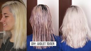over the counter purple hair toner how to get white hair grey hair make your own violet toner at