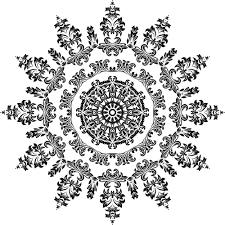 ornamental floral design 21 domain vectors