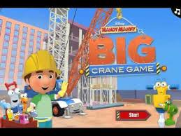handy manny big crane game disney junior