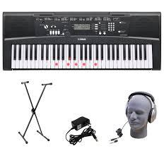 61 by Amazon Com Yamaha Ez 220 61 Lighted Key Portable Keyboard Package