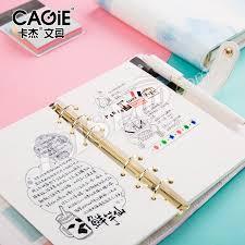 bureau en gros agenda cagie kawaii a6 planificateur journal carnet bureau et fournitures