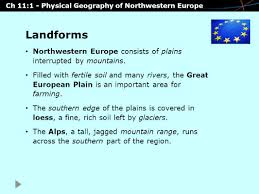 Northwestern Europe Map by Chapter 11 Northwestern Europe Ppt Download