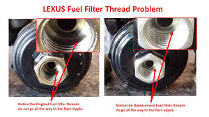 lexus rx problems fuel filter change concerns clublexus lexus forum discussion