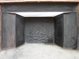 reverbere en fonte cheminee ancienne en pierre louis xvi xviiie s c 310