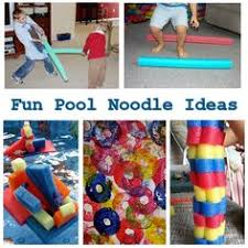 Pool Noodle Decorations 50 Pool Noodle Games And Uses Fun For Party Activities And