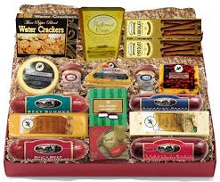 Meat And Cheese Gift Baskets Savory Meat And Cheese Gift Tray