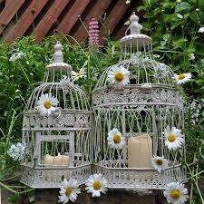 gardensity set of 2 xl hexagon bird cage vintage victorian style