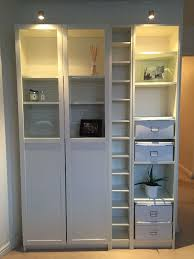 billy bookcase with doors white yarial com u003d ikea billy bookcase doors white interessante ideen