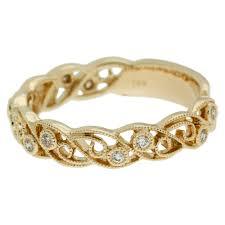 filigree wedding band yellow gold wave filigree wedding band mouradian custom jewelry