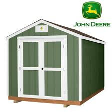 John Deere Home Decor by Backyard Discovery Ready Shed John Deere 8 X 12 Prefab Wood