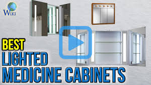 top 7 lighted medicine cabinets of 2017 video review