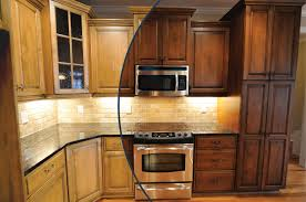 Old World Kitchen Cabinets by Restaining Oak Cabinets Gray Floor Decoration