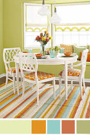interior color schemes yellow green spring decorating open