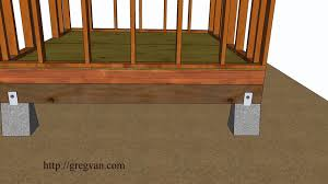 How To Build A Shed Design by Five Ways How To Build A Shed Floor U2013 Design And Construction