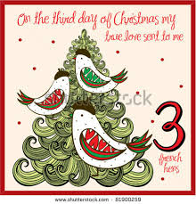 three hens 12 days of 12 days