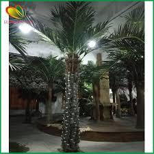decorative artificial plants outdoor artificial silver palm tree