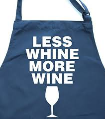 less whine more wine u0027 bottle green apron edward sinclair aprons