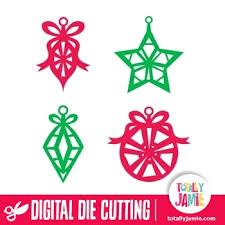 assorted ornament cutout set totallyjamie svg cut