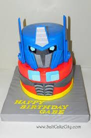 transformer birthday cake salt cake city optimus prime transformer birthday cake