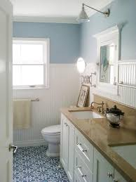 Bathroom Ideas Blue And White 36 Blue And White Bathroom Floor Tile Ideas And Pictures