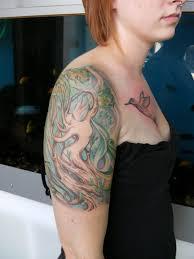 mens half sleeves tattoos tree sleeve tattoo idea creativefan