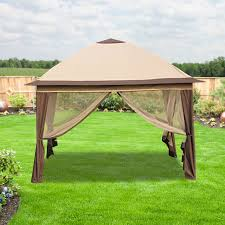 Canopy For Backyard by Big Lots Gazebo Replacement Canopy Covers And Netting Sets