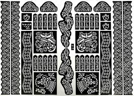 amina henna design stencils the islamic place