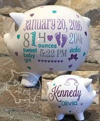 Baby Customized Gifts Best 25 Personalized Piggy Bank Ideas On Pinterest Piggy Banks