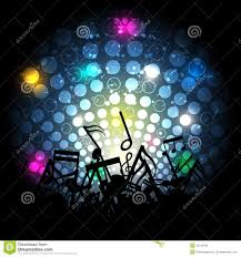 music note with glowing light royalty free stock image image