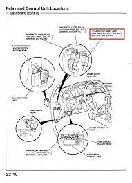 honda del sol starter wiring diagram honda free wiring diagrams